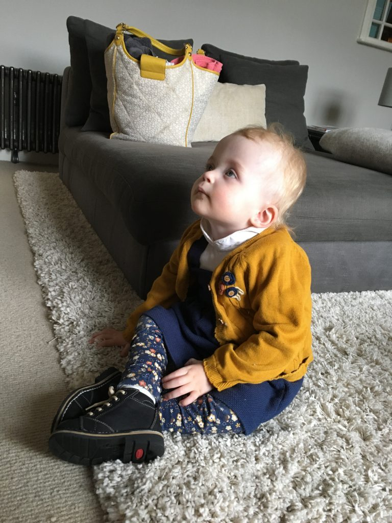 Watching Tv in new boots