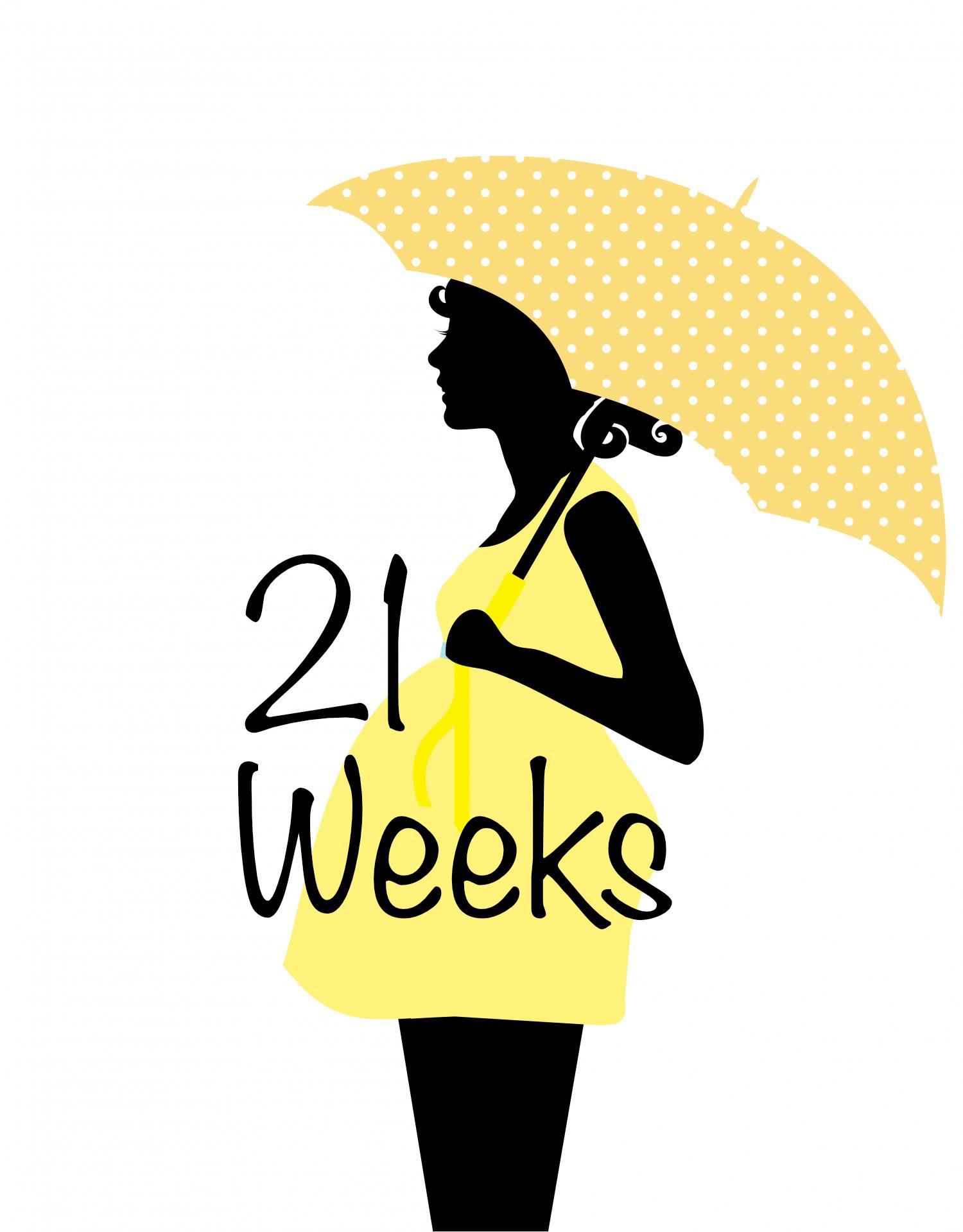 21 week pregnant
